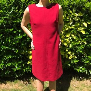 NWT Talbots red shift dress